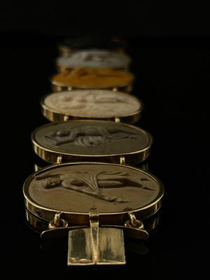 Bracelet pierres de lave