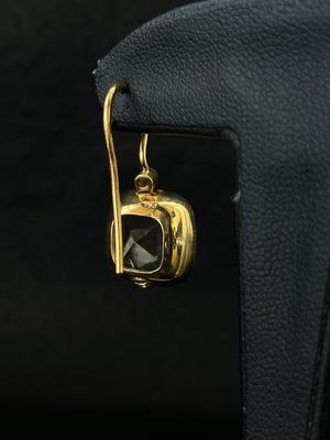 Boucles d'oreilles quartz