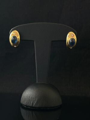 Boucles d'oreilles Saphir