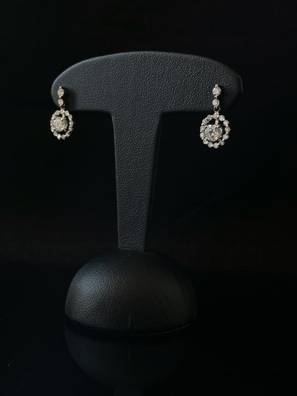 Boucles d'oreilles brillants
