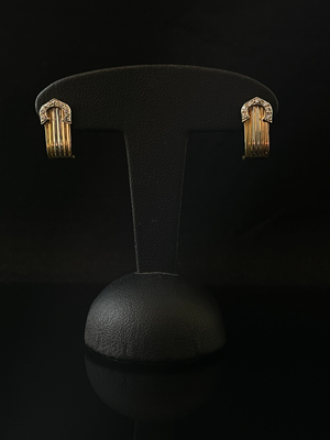 Boucles d'oreilles style Cartier