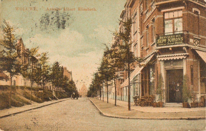 Vieux Woluwe, Avenue Albert-Elisabeth