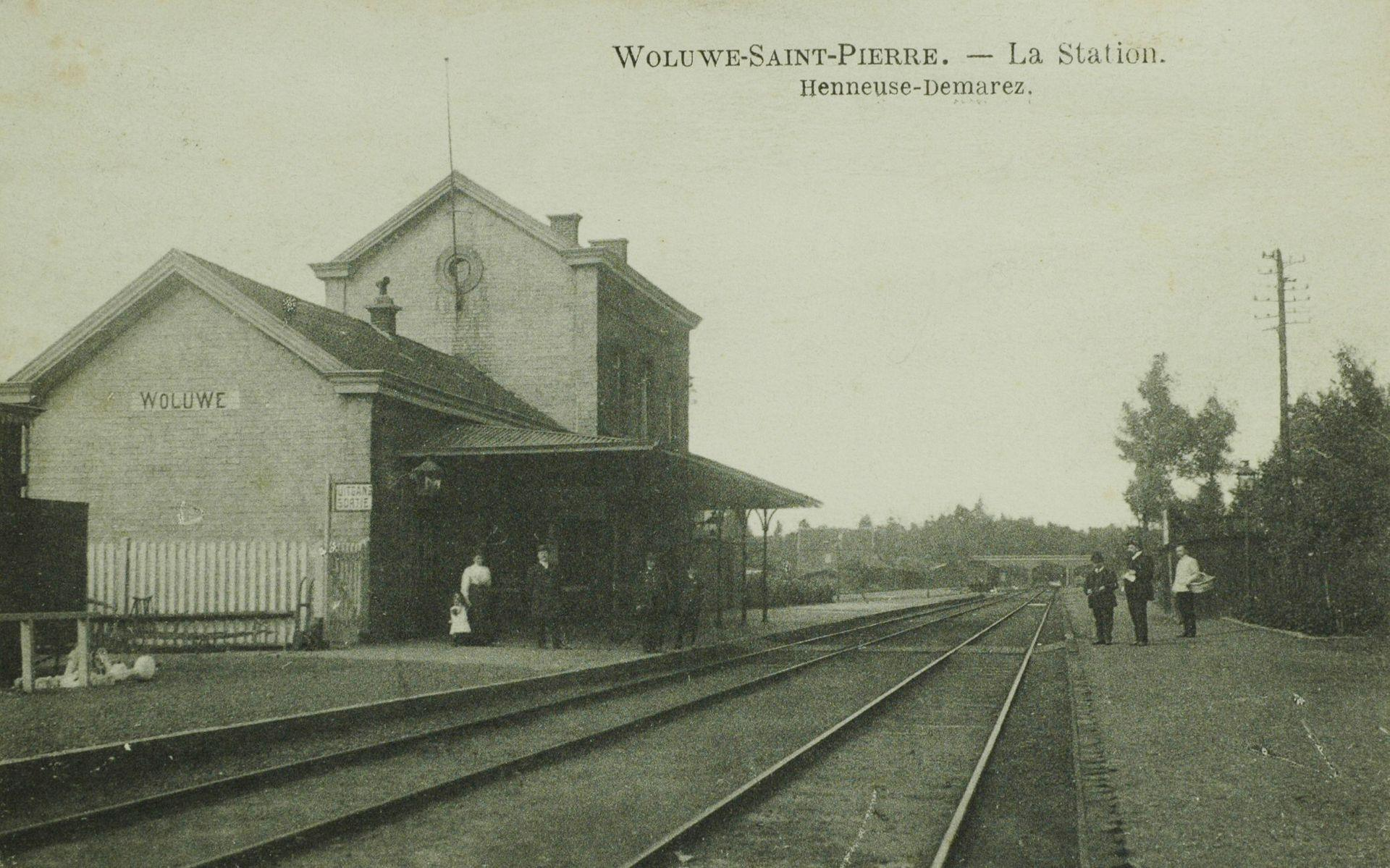 Vieux Woluwe, l'ancienne gare